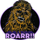 "Star Wars Chewbacca Roarr 2""-7"" Vinyl Decal Stickers $3.99 USD on eBay"