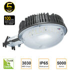 LED Security area barn light 35W 50W 80W 100W IP65 photocell wall mount security