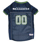Seattle Seahawks NFL Officially Licensed Pets First Dog Pet Blue Jersey XS-XXL $33.96 USD on eBay
