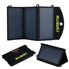 Suaoki 20W / 25W Solar Panel Dual-Port Portable Foldable Charger for Phone Pad