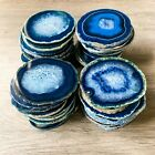 Blue Agate Coasters 2.75