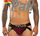 Pali Sexy Gay Men's Lingerie Jockstrap Stretch Open Rear Underwear Front Pouch <br/> New Colors Available Sizes S-M-L Available Fast Ship!