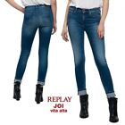 Jeans REPLAY pantaloni donna JOI skinny super stretch vita alta jeggings WX654R