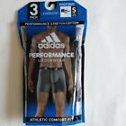 ADIDAS Men`s 3pk 2pk Boxer Briefs Stretch