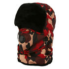 Aviator-Bomber Hat Men Winter Trooper Ear Flap Snow Ski Elmer Fudd Mask Hood Cap