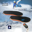 Heated Insoles Wireless Remote Thermacells Controlled Rechargeable Battery US
