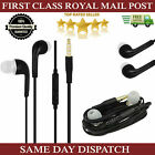 New Earphones Headsphones Ear Buds With MIC For All Mobile Phones & Tabs