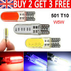 501 T10 5w Cbo Led Car Bulbs Error Free Canbus Smd Xenon White W5w Side Bulb 12v