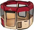 Pet Playpen Foldable Portable Dog/Cat/Puppy Kennel for Small Medium Large