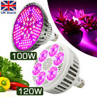 100W 120W LED Plant Grow Light lamp flower seeds Growing Lights Bulb Hydroponics