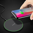 10W Qi Wireless Charger Charging Pad Mat For i Phone 11 11Pro Max X 8Plus XS XR