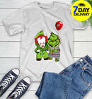 Dallas Stars Baby Pennywise Grinch Christmas NHL Hockey T-Shirt full size $15.99 USD on eBay