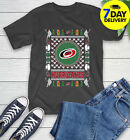 Carolina Hurricanes Merry Christmas NHL Hockey Loyal Fan Ugly Shirt full size $20.99 USD on eBay