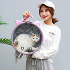Portable Pet Travel Carrier Backpack Cat Dog Space Cute Breathable Round Bag