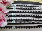 Lovely 1/2 inch lace trim  PRICE FOR 1 YARD /select color/