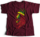 Lion Head Rasta Music T-Shirt Reggae Jamaican Dope Trippin King Jungle Kush P605