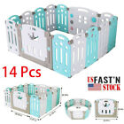 Used, Baby Playpen Kids Activity Center-14 Panel Safety Play Yard Area -Indoor, Out US for sale  Shipping to South Africa