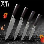 Kitchen Knives Stainless Steel Knife Wood Handled chef santoku paring