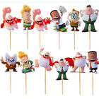 12/24 CUPCAKE CAPTAIN UNDERPANTS DECORATION PARTY CAKE TOPPER BALLOON SUPPLIES