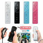 Wii Remote Controller FOR NINTENDO WII & WII U+SILICONE+STRAP WIFI Motion Plus