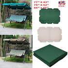 "Outdoor Swing Top Cover Canopy Replacement Porch Patio 66""x45"" 75""x52"" 77""x43"""