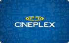 Cineplex Gift Cards - Mail Delivery