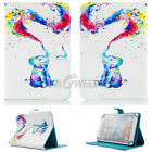 "For 9.7-10.1"" inch Tablet Rainbow Elephant Universal Leather Case Cover/Keyboard"