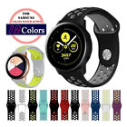 B# Silicone Sport Watch Band Strap For Samsung Galaxy Watch Active2 40mm 44mm image