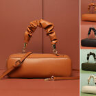 Real Leather Structured Rectangular Tote Shoulder Bag Crossbody Purse Top handle