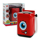 Mini Electric Washing Machine Kids Dollhouse Toy Makeup Brushes Cleaner Washer