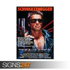 THE TERMINATOR ARNOLD SCHWARZENEGGER (ZZ084) MOVIE POSTER Poster A0 A1 A2 A3