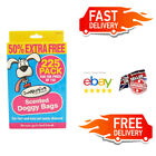 Dog Poo Bags Tie Handles Pet Waste Bags Doggy Poop Bags Small/Medium size x 225