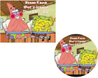 Spongebob Squarepants EDIBLE Cake Topper or Cupcakes, What's Funnier Than 24