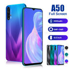 6.6 Inch Android 9.0 Unlocked Smartphone Mobile Phone 4core Dual Sim 3g Phablet
