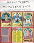 1970 TOPPS FOOTBALL YOU PICK FROM SCANS # 132 TO # 263 $6.0 USD on eBay