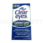 Clear Eyes Eye Lubricant Redness Reliever Eye Drops - Choose from 5 Types