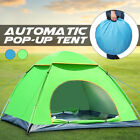 2-3 Person Automatic Camping Tent UV Protection Quick Open Up Outdoor Shelter US