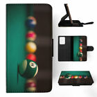 SNOOKER POOL TABLE BALLS 1 FLIP WALLET CASE COVER FOR SAMSUNG GALAXY S $10.45 USD on eBay