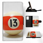 SNOOKER POOL TABLE BALLS 9 FLIP WALLET CASE COVER FOR SAMSUNG GALAXY S $10.41 USD on eBay
