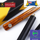 Weichster Elite 3/4 Jointed Handmade Ash Marble Wood Snooker Cue Two Model $299.95 AUD on eBay