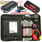 Car Battery Charger 68800mAh 600A Jump Starter Cables Power Bank Booster SOS LED