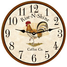 Rooster Kitchen Clock