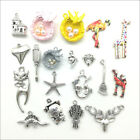 Lot Antique Charms Pendants For Jewelry Making Diy Bracelet Necklace 100 Styles