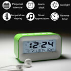 Children LCD Electronic Digital Alarm Clock With Large Screen Battery Operated