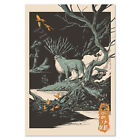 Princess Mononoke Poster - God of the Forest Exclusive Art - High Quality
