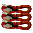 3Pack 6Ft 10Ft iPhone Charger Cable Nylon BraIded Lightning Cord For X 8 7 6