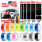 Gloss Color Racing Stripes Vinyl Wrap Decal For Scion TC Sticker 25FT / 50FT $33.4 USD on eBay