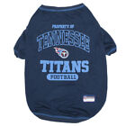 Tennessee Titans Officially Licensed NFL Dog Pet Tee Shirt, Blue XS-XL $20.65 USD on eBay