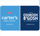 Carter's OshKosh B'gosh Gift Card - $25 $50 $100 - Email Delivery For Sale
