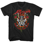 Poison Ride Like The Wind Men's T Shirt Rock Band Album Cover Concert Tour Merch image